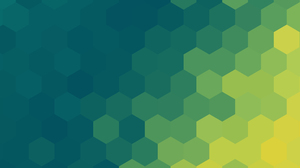 Abstract Hexagon Shapes Green 5120x2880 Wallpaper