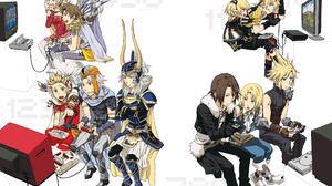 Final Fantasy Terra Branford Cecil Harvey Bartz Klauser Onion Knight Firion Final Fantasy Warrior Of 2637x1810 Wallpaper
