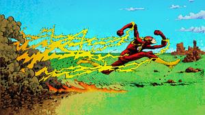 Comics Flash 1920x1080 Wallpaper
