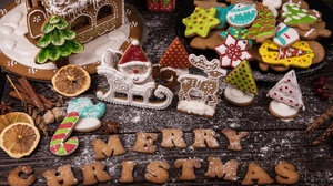 Christmas Cookie Gingerbread 3000x2000 Wallpaper