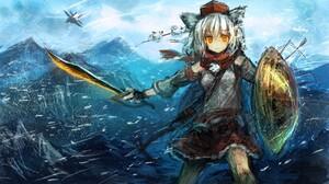 Fantasy Momiji Inubashiri 1700x989 Wallpaper