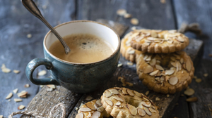 Coffee Cookie Cup Drink Still Life 3340x2633 Wallpaper