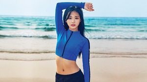 Twice K Pop Twice Tzuyu Asian Arms Up Women TZUYU 1920x1080 Wallpaper