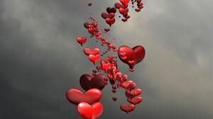 3d Artistic Heart Red 2560x1600 Wallpaper