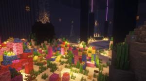 Coral Minecraft Underwater Shaders 1920x1080 Wallpaper