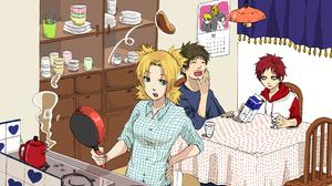 Gaara Naruto Kankur Naruto Temari Naruto 3437x2478 Wallpaper