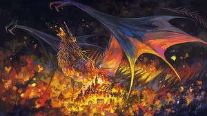 Fire City 2000x1210 wallpaper