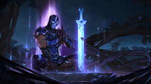 Shen League Of Legends 2560x1280 Wallpaper