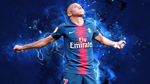 Kylian Mbappe Paris Saint Germain F C Soccer 1920x1200 Wallpaper