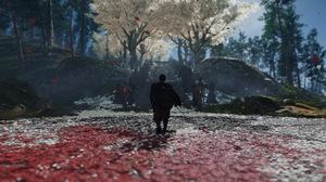 Samurai Japan Ghost Of Tsushima PlayStation 4 Video Games Katana War Duel Horse 3840x2160 Wallpaper