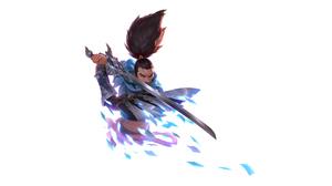 Yasuo League Of Legends 2560x1280 wallpaper