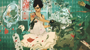 Women Artistic 1323x935 Wallpaper