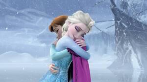 Anna Frozen Elsa Frozen Frozen Movie 1920x804 Wallpaper