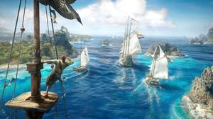 Horizon Island Pirate Ship Skull And Bones 3840x2160 Wallpaper