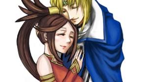 Couple Guilty Gear Ky Kiske Kuradoberi Jam Guilty Gear Strive Guilty Gear Xrd Anime Games Fighting G 1735x1866 Wallpaper