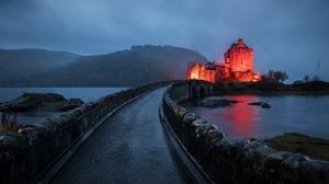 Castle Eilean Donan Castle Scotland 3840x2160 wallpaper