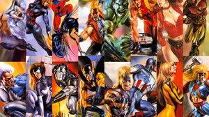 Ant Man Beast Marvel Comics Captain America Hawkeye Hulk Iron Man Scarlet Witch 1406x960 wallpaper
