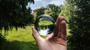 Ball Glass Design Glass Door Russia Hands Globe Sphere 4000x2992 Wallpaper