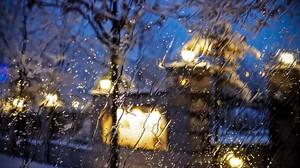 Light Rain Water Drop Window 2867x1926 wallpaper