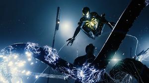 Doctor Octopus Glow Marvel Comics Night Peter Parker Spider Man Spider Man Ps4 Superhero 2048x1152 Wallpaper