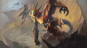 Digimon Mecha Robot 4253x3031 wallpaper