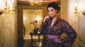 Actress American Brunette Chandelier Depth Of Field Jaimie Alexander 5760x3840 Wallpaper