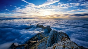 Cloud Horizon Sky 1920x1080 Wallpaper