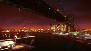 Bridge City Grand Theft Auto V Road 1920x1080 wallpaper
