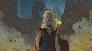 Dragon Girl Daenerys Targaryen White Hair 1920x1280 wallpaper
