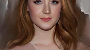 Stam Quito Digital Art Artwork Drawing Fan Art Portrait Portrait Display Digital Painting Saoirse Ro 2549x3186 Wallpaper