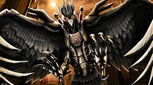 Armor Bird Cyborg 3509x2339 Wallpaper