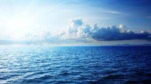 Cloud Nature Ocean Sky Sunbeam Water 2880x1800 Wallpaper