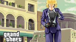 Alice Margatroid Touhou Grand Theft Auto 3071x2480 Wallpaper