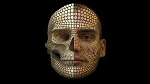 Artistic Human Skull 1920x1080 Wallpaper