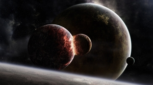 Sci Fi Collision 2560x1600 Wallpaper