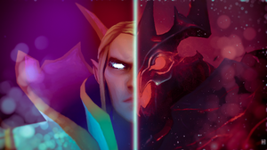 Dota 2 Drawing Invoker Dota 2 Shadow Fiend Dota 2 1920x1080 Wallpaper