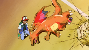 Ash Ketchum Charizard Pokemon Pokemon The First Movie 1920x1080 Wallpaper