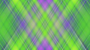 Colorful Digital Art Geometry Gradient Green Shapes 1920x1080 Wallpaper