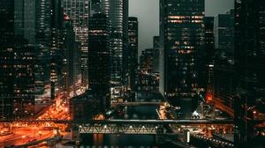 Man Made Chicago 2560x1600 wallpaper