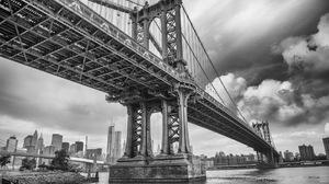Man Made Manhattan Bridge 1920x1247 Wallpaper