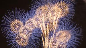Fireworks Light Night 2048x1365 Wallpaper