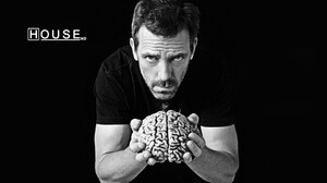 House M D Brain Hugh Laurie Actor Men 1680x1050 Wallpaper