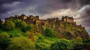 Edinburgh Castle 1920x1200 wallpaper