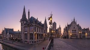Belgium Ghent 2560x1842 Wallpaper