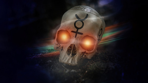 Skull Artwork Digital Art Digital Magic 5120x2880 Wallpaper
