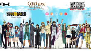 Anime Asuna Yuuki Code Geass Crossover Death Note Edward Elric Euphemia Li Britannia Fullmetal Alche 5784x1496 Wallpaper