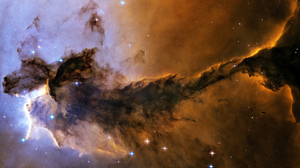 Cloud Cosmos Hubble Nebula Photography Space Stars Theater Universe 2560x1600 Wallpaper