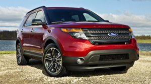 Car Crossover Car Ford Explorer Sport Mid Size Car Red Car Suv 1920x1080 Wallpaper