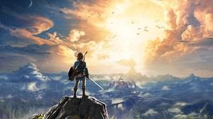 The Legend Of Zelda Link The Legend Of Zelda Breath Of The Wild Artwork Video Games 3840x2160 Wallpaper