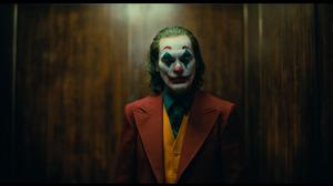 Joker 2019 Movie Joker Joaquin Phoenix Men Film Stills Movies DC Comics Makeup 1920x1080 Wallpaper